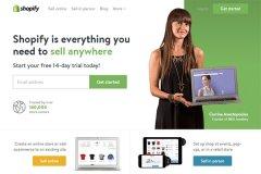 Shopify,一枚简洁清新的国外电子商务平台网站